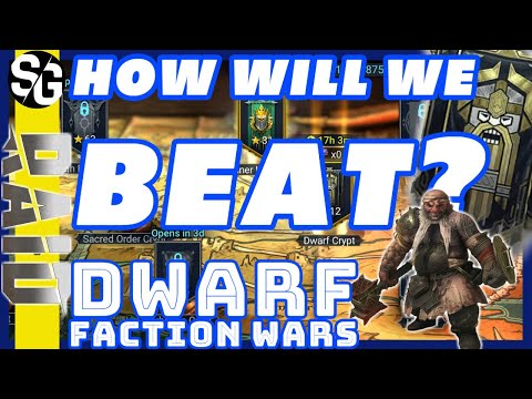RAID SHADOW LEGENDS | DWARF FACTION WARS | SECRET TO BEATING IT!