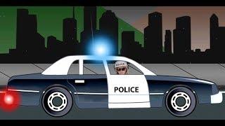 Monster Trucks For Children - Police Car For Kids Videos - Disney Frozen Movie