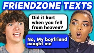 TEENS READ 10 FUNNY FRIEND ZONE TEXTS (REACT) width=