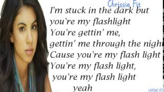 Flashlight-James Maslow ft Chrissie Fit,Official cover [Lyrics]