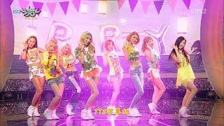 【LIVE中字】150717 原畫畫質 少女時代 SNSD - Party @ Music Bank