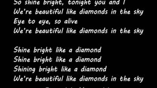 Rihanna - Diamonds (Instrumental + Lyrics) Karaoke