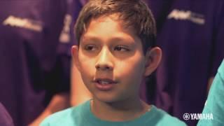 """Sailing Away ft. Laurence Juber"" Sheridan Way Elementary School on John Lennon Bus"