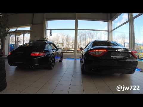 Porsche 911 Carrera Or Maserati GranTurismo