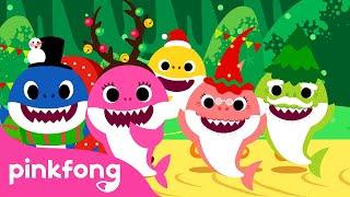 Christmas Sharks | Christmas Carols | Pinkfong Songs for Children