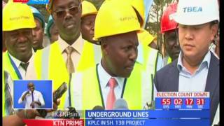 Kenya Power implementing Ksh13 billion underground power project