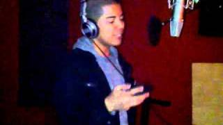 "Aly-Us ""Follow Me"" Cover (Acapella Preview) / Studio Session with AJ Tabaldo"