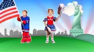 Crianças Volta ao Mundo   Estados Unidos   Patati Patatá DVD Volta ao Mundo