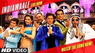 Download INDIAWAALE Song from Happy New Year Movie Ft. Shahrukh Khan and Deeepika Padukon