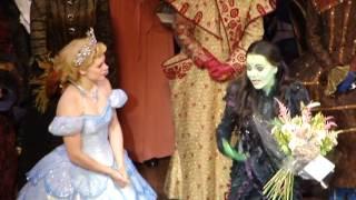 Rachel Tucker's Goodbye Speach Wicked London 27-10-12