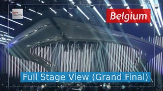 City Lights - Belgium (Full Stage View) - Blanche - Eurovision Song Contest 2017 - Final