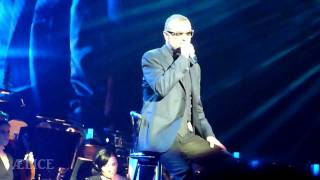 George Michael Symphonica Tour live @Sportpaleis Antwerp - Song to the siren