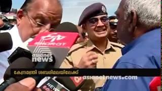Minister Pon Radhakrishnan Visiting Nilakkal  to check pilgrims facilities