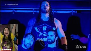 WWE Raw 10/13/17 Roman Reigns Returns to The Shield