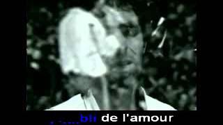 Karaoké JJ Goldman La vie par procuration (version live)