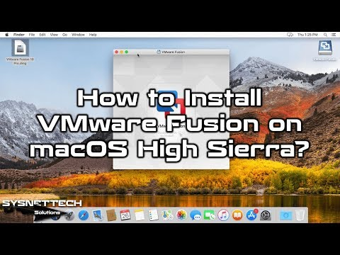 How to Install VMware Fusion in Mac