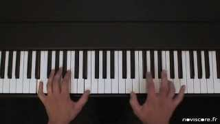 "KEANE ""Somewhere only we know"" Version piano solo (Piano Cover) Partition ""Noviscore"""