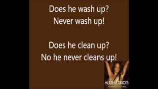 Alesha Dixon - The Boy Does Nothing (Lyrics)