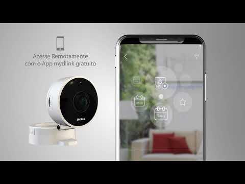 Conheça a câmera Wi-Fi HD DCS-8010LH