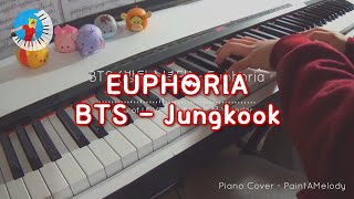 BTS (방탄소년단) Euphoria | Piano Cover [Sheet Music]