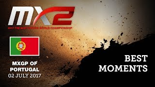 MX2 Best Moments Qualifying Race_MXGP of Portugal 2017 #motocross