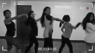 Unlimited Girls  ensayando cover 4minute - crazy