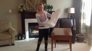 How to fold a fitted sheet the dummy-proof way