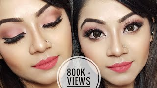 Easy Summer Makeup Tutorial - Peachy Everyday Makeup Look width=