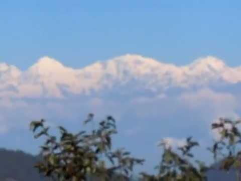 Daman, Nepal – whole himalaya range
