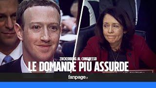 Le domande piu' assurde fatte dal congresso a Zuckerberg