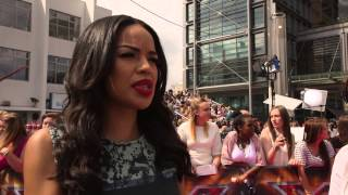 Sarah-Jane Crawford on finding out she got the X Factor presenting gig