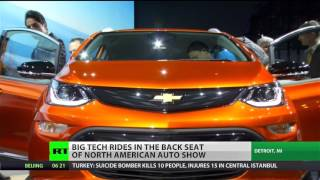 Detroit Auto Show: Big Tech eating the auto industry alive