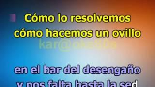 Vanesa Martin / Complicidad ft Manuel Medrano karaoke Duo