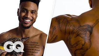 Trey Songz Breaks Down His Tattoos | GQ