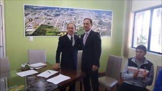 Leouve - Caio assume Secretaria de Esportes e Lazer de Garibaldi
