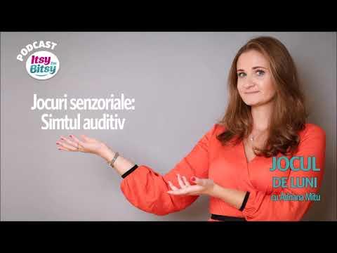 Jocuri senzoriale – Simtul auditiv