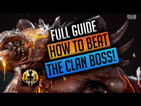 RAID: Shadow Legends   HOW TO BEAT THE CLANBOSS! FULL GUIDE!