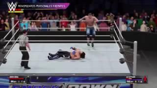 Spot TV WWE 2K17 Neox 12-13 de noviembre de 2016 (Taunts)