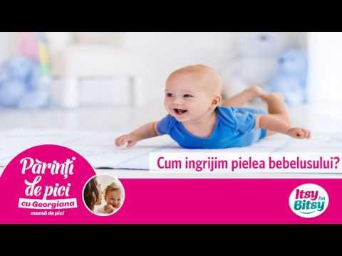 Cum ingrijim pielea bebelusului?