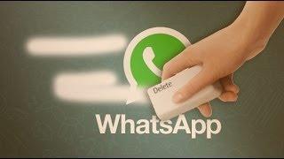 Borra mensajes y conversaciones de Whatsapp ¡Que no te pillen!