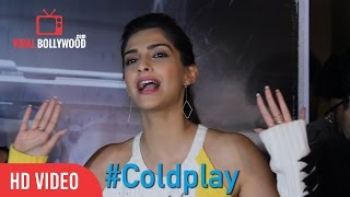 Sonam Kapoor's Reaction on Coldplay - Hymn For The Weekend - Official video | ViralBollywood