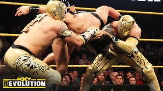 The Lucha Dragons vs. The Vaudevillains – NXT Tag Team Championship Match: NXT TakeOver: R Evolution