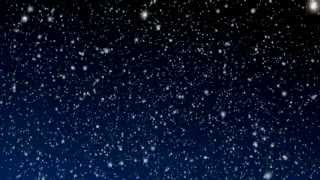 Snowy Night - Loop Video Background