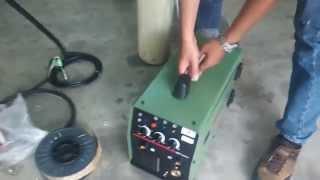 Cara cara memasang Mig Welding Machine . The way of install Mig Welding Machine. #mtiscommy #mtis