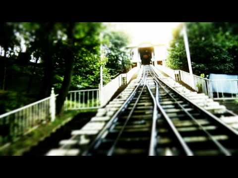 Funicular Railway | Train In Kiev, Ukraine | Tilt Shift