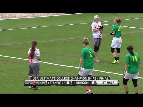 Video Thumbnail: 2015 College Championships, Women's Final: Oregon vs. Stanford