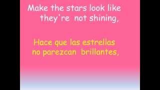 Bruno Mars JUST THE WAY YOU ARE Subtitulada Inglés   Español