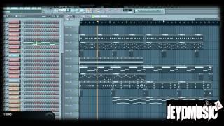 Hard aggressive Hip-Hop [RAP] Instrumental (Fl Studio 10)