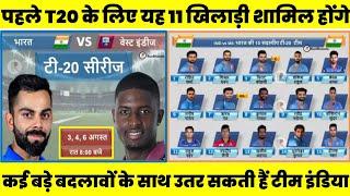 इतने बजे से खेला जाएगा पहला T20 मुकाबला, यह हो सकती है टीम इंडिया की संभावित 11