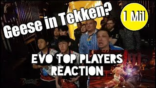 [Tekken 7] GEESE REACTION: Top 8 Evo2017 Tekken finalists